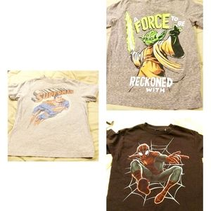 Boys T-shirt Lot of 3 Size 6-7